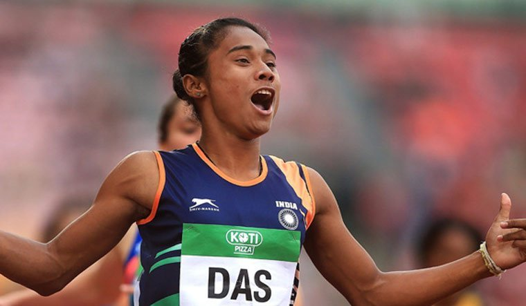 Athlete Hima Das Tests Positive for Covid-19