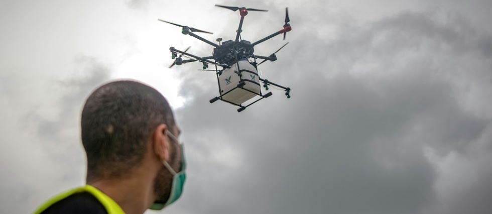 COVID-19 vaccine delivery through drones starts in Manipur