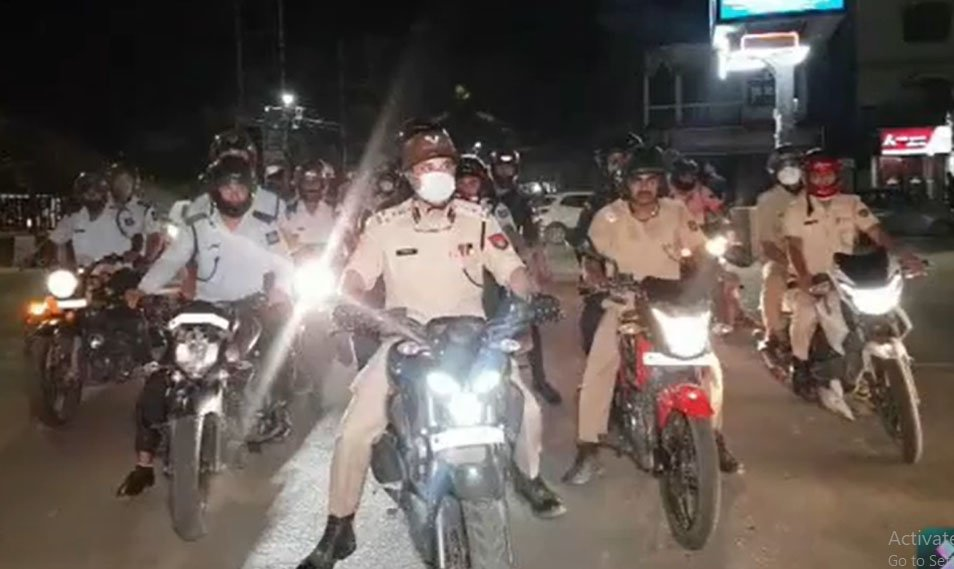 Watch   City police hit the streets of Guwahati to ensure safe and secure